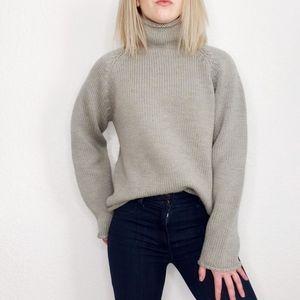 J. Crew Vintage Chunky Knit Turtleneck Sweater XS
